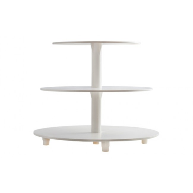 Alzata per torte 3 piani 34 25 20 cm cake design alcas for Design a 3 piani
