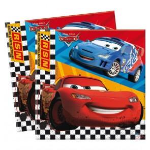 CARS TOVAGLIOLI 2 VELI 33X33 cm 20 PEZZI